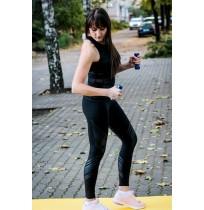Майка для бега женская чёрный р.L Demix A19ADESIW01-99