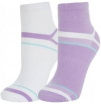 Носки для фитнеса фиолетовый/белый р.39-42 KWCZ02-LW