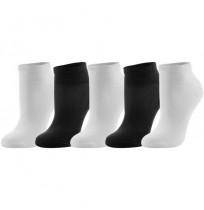 Носки для спорта Demix(5 пар) черный/белый арт.LUCZ01-BW