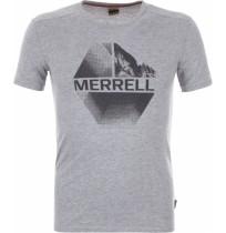 Футболка мужская Merrell Men's T-shirt серый арт.S18AMRTSM04-91