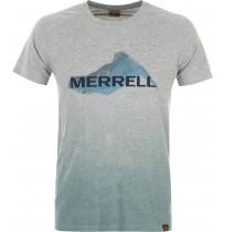 Футболка мужская Merrell серый/голубой арт.S18AMRTSM05-AQ