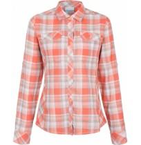 Рубашка женская Columbia Camp Henry™  оранжевая клетка арт.1450321-848