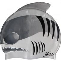 Шапочка для плавания детская Joss Kid's cap светло - серый арт.YJ4106-95