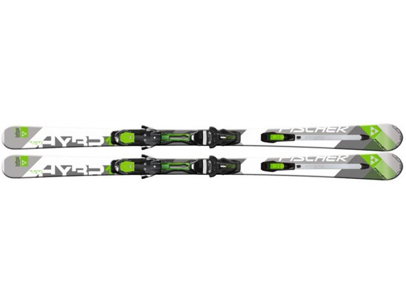 Горные лыжи Fischer Hybrid 7.5 Ti Powerrail