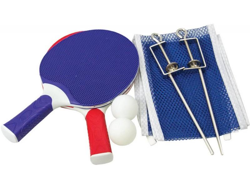 Набор для наст тенниса (2 ракетки+3 мяча*+сетка) Atemi арт.ATR-100