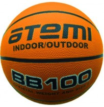 Мяч баскетбольный Atemi р. 6, резина BB100