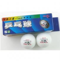 Мячи для настольного тенниса Double Fish  3зв. (3 шт.) арт.B111F