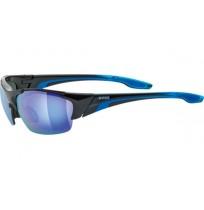 Очки солнцезащитные Uvex чёрный/синий арт.0604.2416