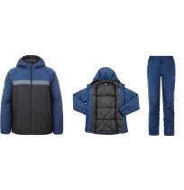 Костюм спортивный мужской Demix синий/черный арт.A18ADESUM01-MB