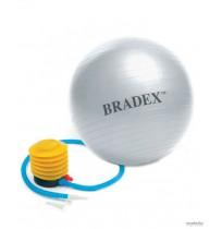 Мяч для фитнеса с насосом Bradex, 55, арт.SF 0241