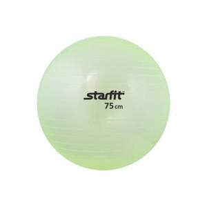 Мяч гимнастический Starfit, зеленый, антивзрыв, 75 см арт.GB-105-75-G