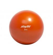 Медицинбол Starfit 2кг, красный, арт.GB-703-2