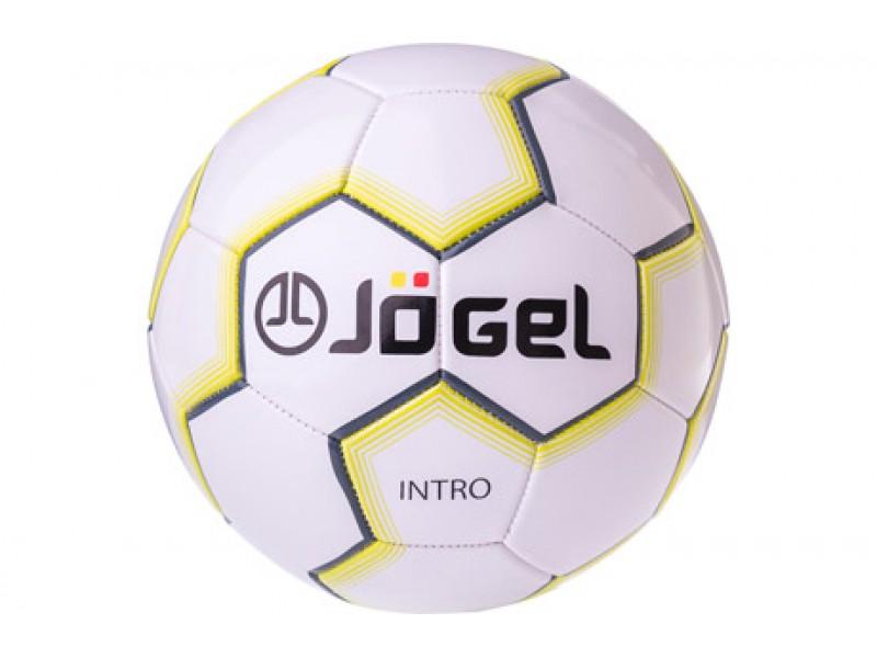 Мяч футбольный Jogel Intro №5 (белый) арт.JS-100-5-WH