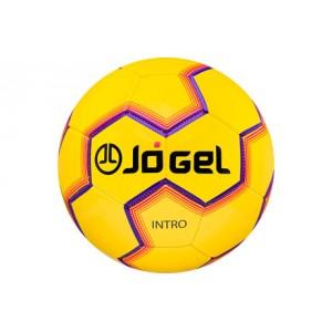 Мяч футбольный Jogel Intro №5 (желтый) арт.JS-100-5-Y