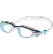 Очки для плавания Joss для взрослых белый/голубой арт.A18AJSGGU01-WQ