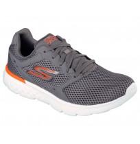 Кроссовки мужские для бега Sketchers GO MOVE серый/оранжевый арт.54350-CCOR