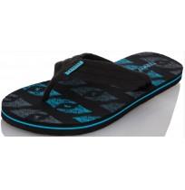 Шлепанцы мужские SURFING черный/голубой р.40 DNMT51-BQ