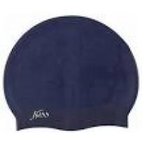 Шапочка силиконовая Silicone cap тёмно-синий