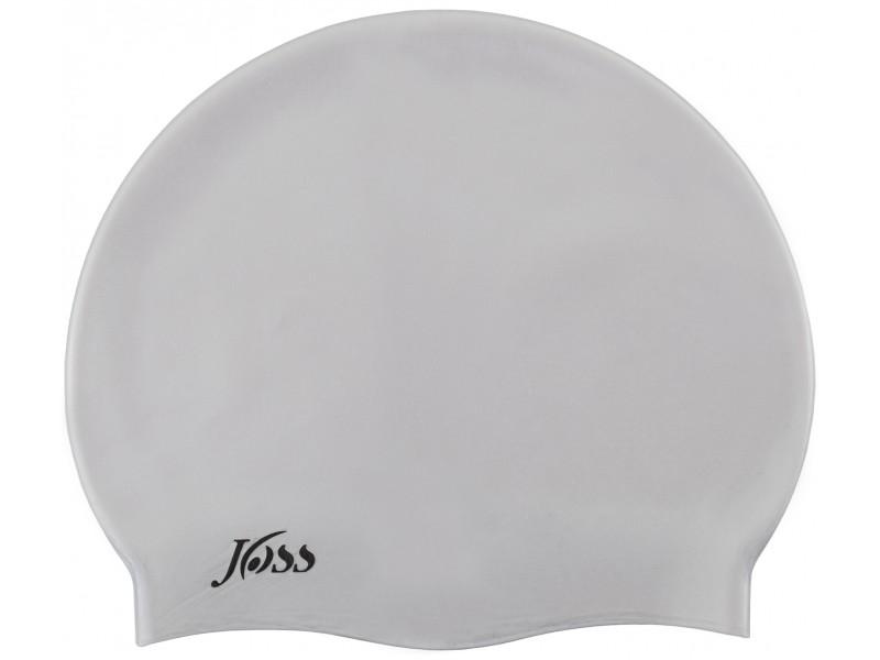 Шапочка силиконовая Silicone cap серебряный