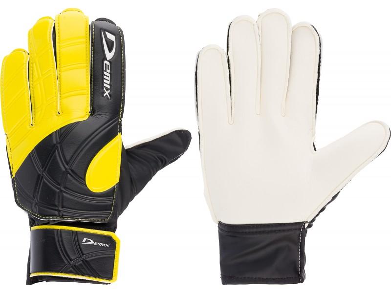Перчатки вратарские Demix Goalkeepergloves черно/желытй DG50Keep-. 10