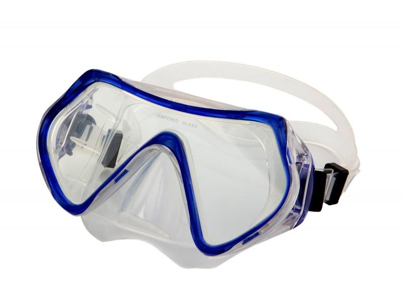 Маска для плавания синий