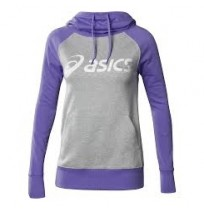 Толстовка спортивная Asics Knit Hoodie (фиолетовый)