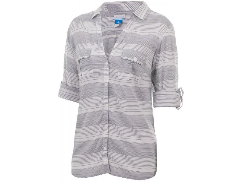 Рубашка с длинным рукавом Columbia Light Waves  Long Sleeve Shirt синий