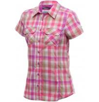 Рубашка с коротким рукавом Columbia Saturday Trail  III Plaid SS Shirt розовый