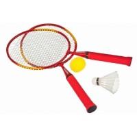 Набор для бадминтона Torneo: 2 ракетки, волан, мяч, арт.TRN-6T