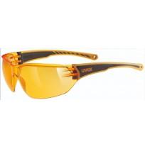 Очки солнцезащитные Uvex оранжевый арт.0525.3112