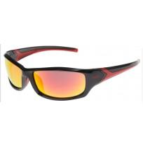 Очки солнцезащитные Uvex чёрный/красный арт.0613.2213