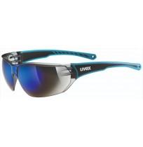 Очки солнцезащитные Uvex синий арт.0525.4416