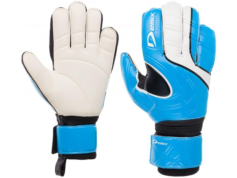 Перчатки вратарские Demix Goalkeepergloves бело/голубой арт.DG75MATCH
