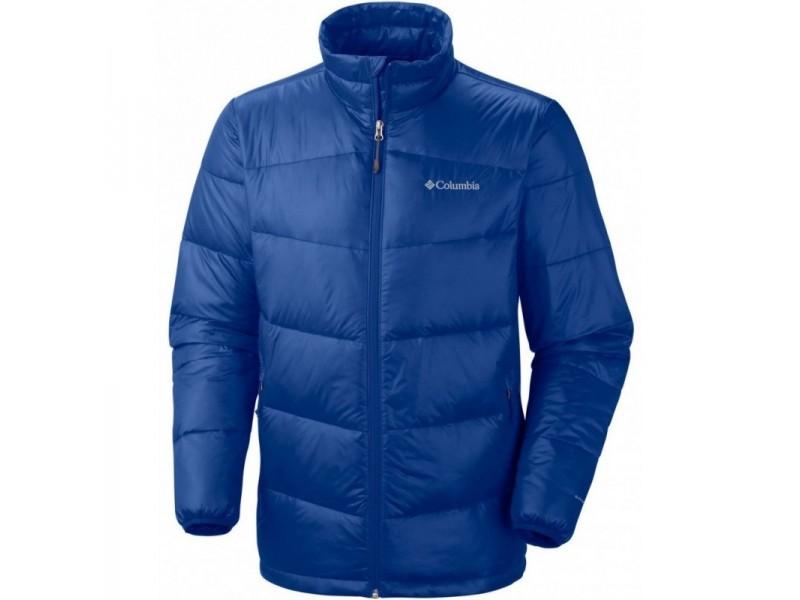 Куртка пуховая мужская Columbia Gold 650 TurboDown голубой арт.1567811-438