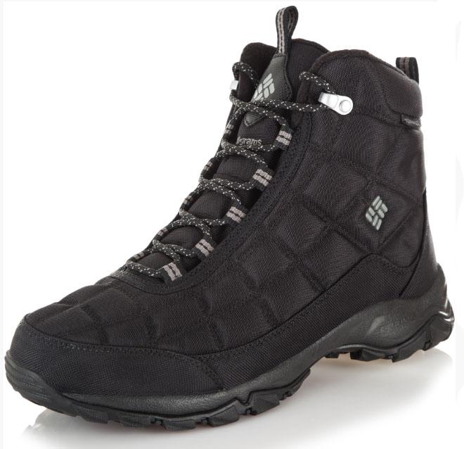 8165fb89b533 Ботинки мужские Columbia FIRECAMP™ BOOT черный арт.1672881-012